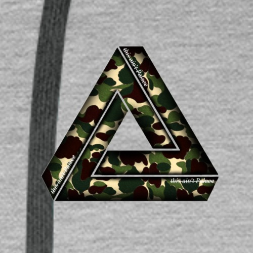 This ain't Palace Bape Logo - Männer Premium Hoodie