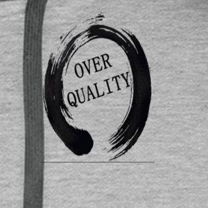 Over Quality Sweat - Sweat-shirt à capuche Premium pour hommes