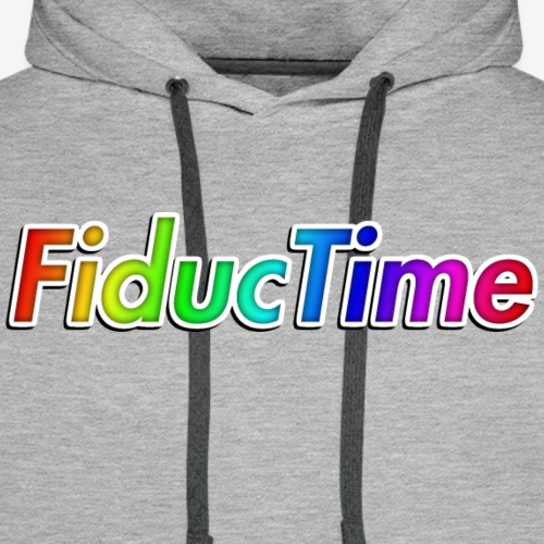 FiducTime With Shadow - Men's Premium Hoodie