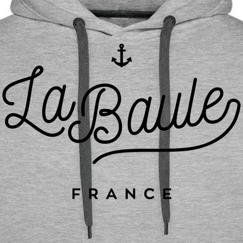 La Baule - France - Sweat-shirt à capuche Premium pour hommes