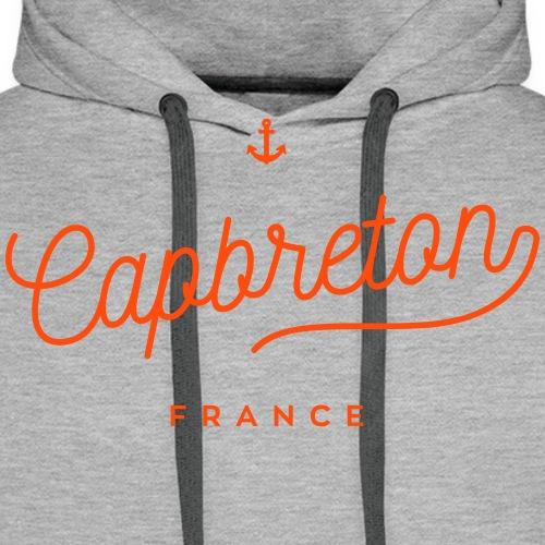 Capbreton - France - Sweat-shirt à capuche Premium pour hommes