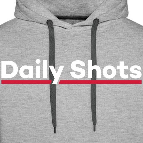 Daily Shots - Männer Premium Hoodie