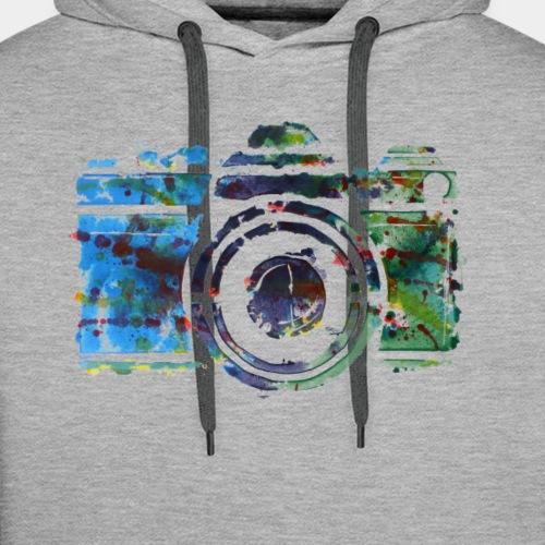 Kamera - Männer Premium Hoodie