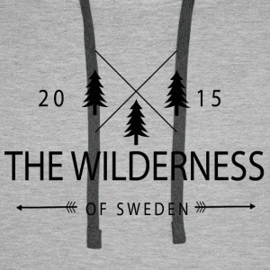 The Wilderness Of Sweden - Men's Premium Hoodie