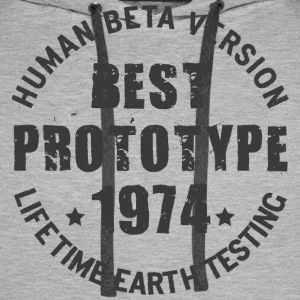 1974 - The year of birth of legendary prototypes - Men's Premium Hoodie