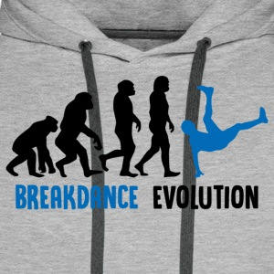 ++ ++ Breakdance Evolution - Premium hettegenser for menn