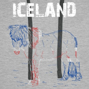 Nation-Design Iceland Horse - Men's Premium Hoodie