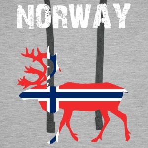 Nation-Design Norway Reindeer - Men's Premium Hoodie