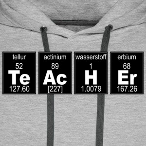 Chemistry Teacher - Men's Premium Hoodie