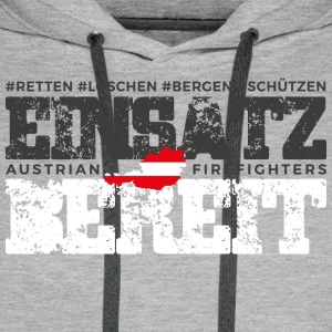 Austrian Firefighters Edition 2017 - Männer Premium Hoodie