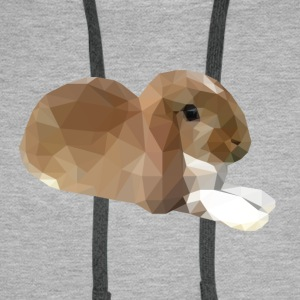 Relaxing Small Rabbit - Men's Premium Hoodie
