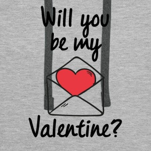 Will you be my Valentine? - Men's Premium Hoodie
