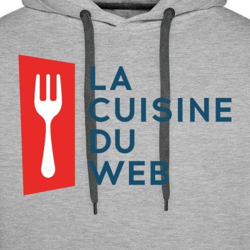 La Cuisine Du Web - Sweat-shirt à capuche Premium pour hommes