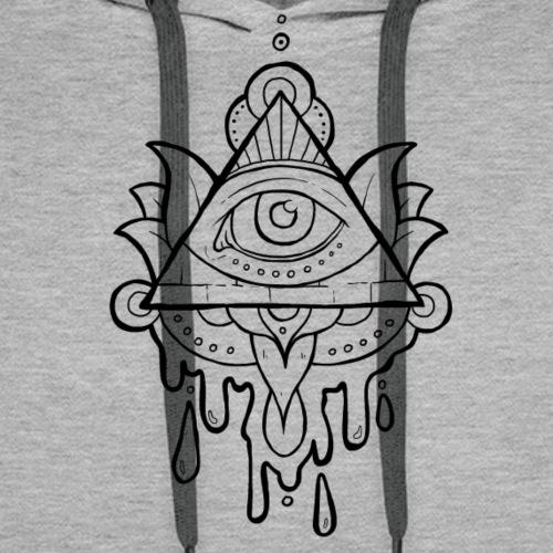 Triangle Doodle - Männer Premium Hoodie
