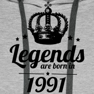 Legends 1991 - Men's Premium Hoodie