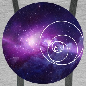 Galaxy Circle - Men's Premium Hoodie