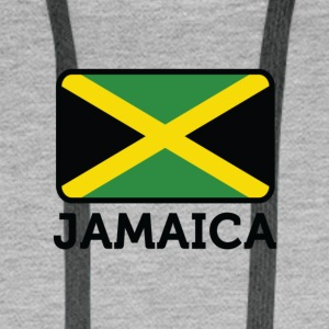 National Flag Of Jamaica - Premiumluvtröja herr
