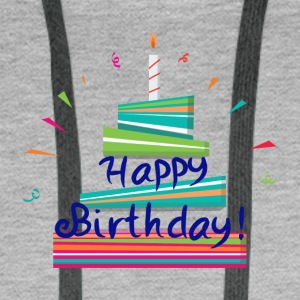 Happy Birthday! - Men's Premium Hoodie