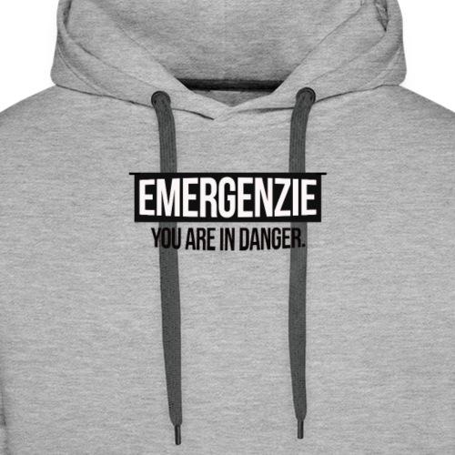 EMERGENZIE - YOU ARE IN DANGER - Männer Premium Hoodie