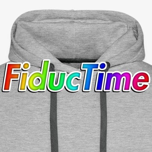 FiducTime With Shadow - Men's Premium Hoodie