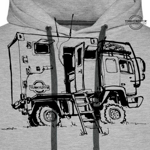 Expedition Truck | Terratrotter® - Men's Premium Hoodie