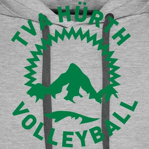 TVA Hürth Logo einfarbig individualisierbar - Männer Premium Hoodie