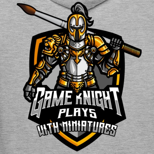 Game kNight Plays with Miniatures - Men's Premium Hoodie
