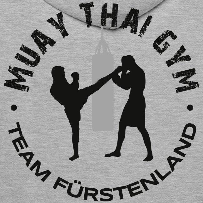 Logo MUAY THAI GYM Team Fuerstenland schwarz png