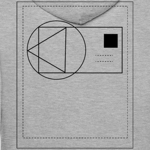 geometrix card double - Männer Premium Hoodie