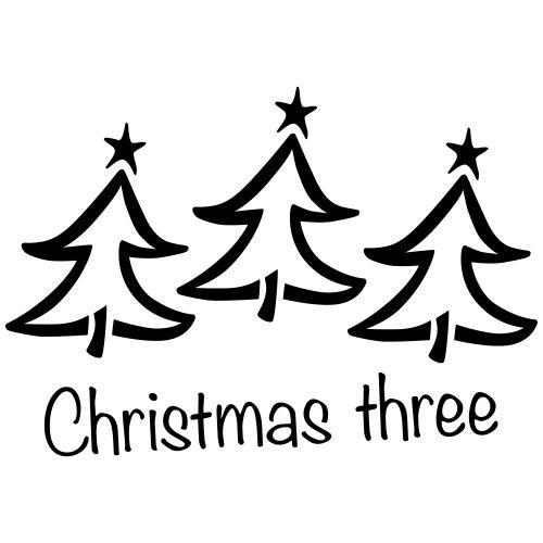 Christmas three - Mannen Premium hoodie