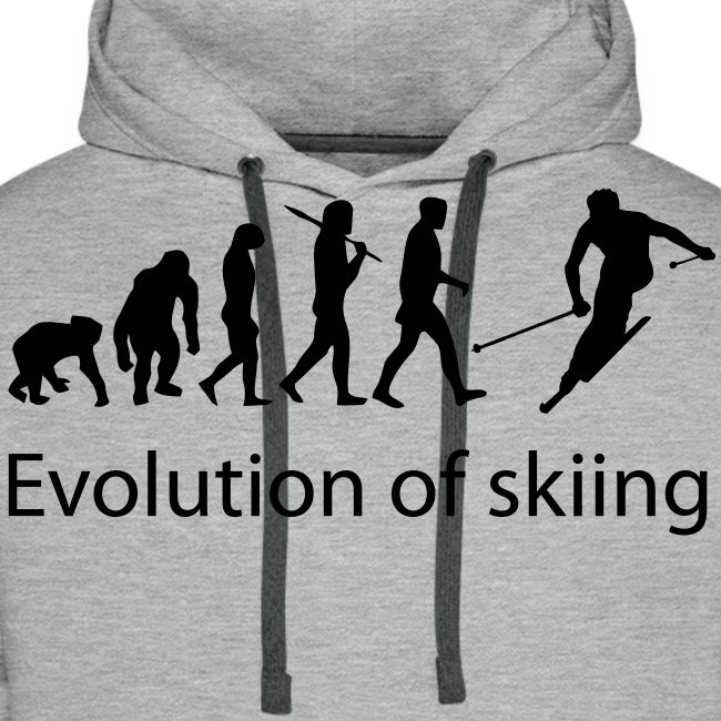 evolution of skiing text