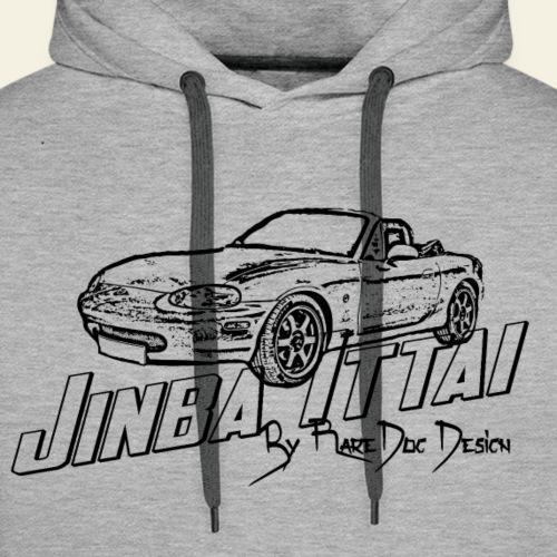 MX 5 NB Jinba Ittai - Herre Premium hættetrøje