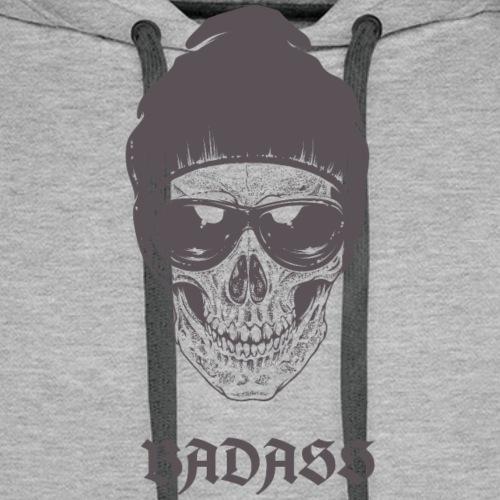 Badass - Sweat-shirt à capuche Premium pour hommes