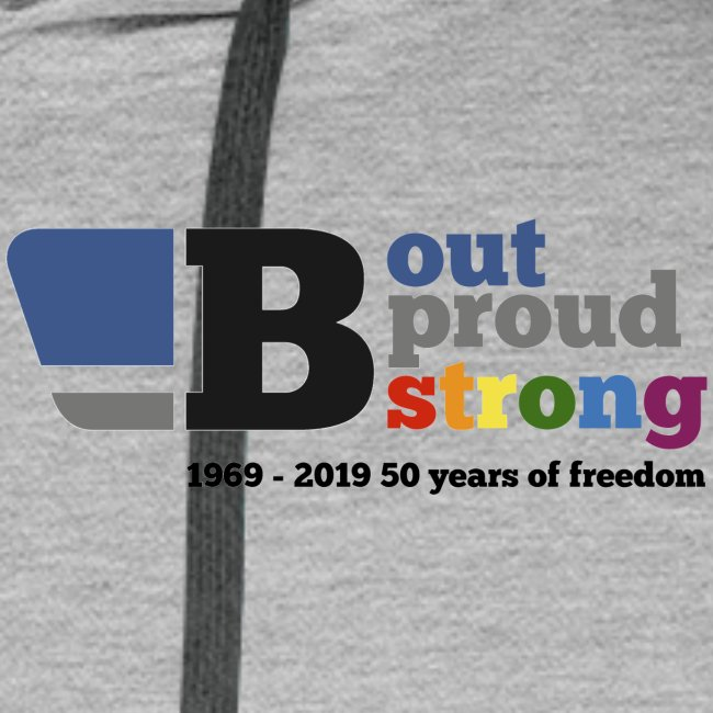B out B proud B strong