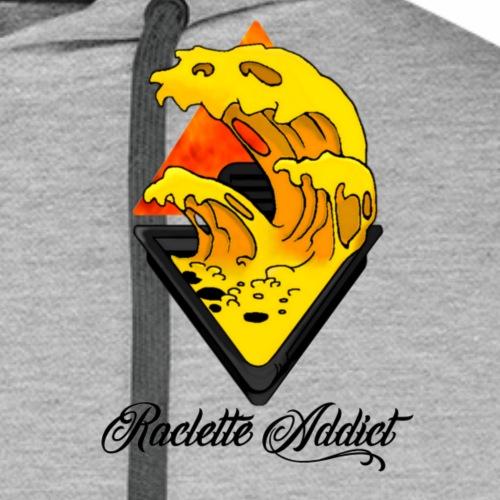 Raclette Addict - Sweat-shirt à capuche Premium pour hommes