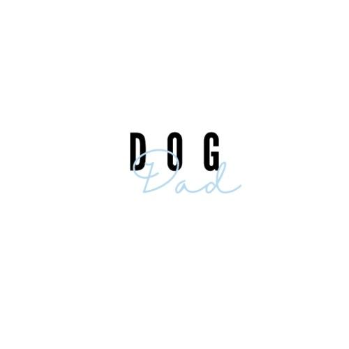 Dog Dad Blue - Premium hettegenser for menn