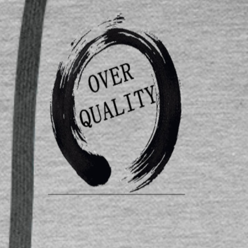 Over Quality Sweat - Sweat-shirt à capuche Premium pour hommes