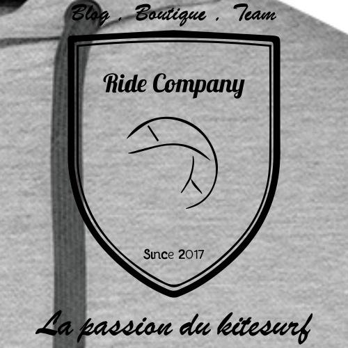 LOGO RIDE COMPANY KITE - Sweat-shirt à capuche Premium pour hommes