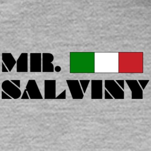 MR. SALVINY - Logo con bandiera - Felpa con cappuccio premium da uomo