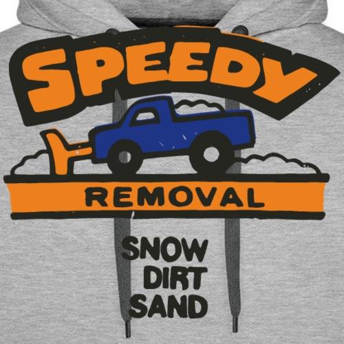 Speedy Removal - Mannen Premium hoodie