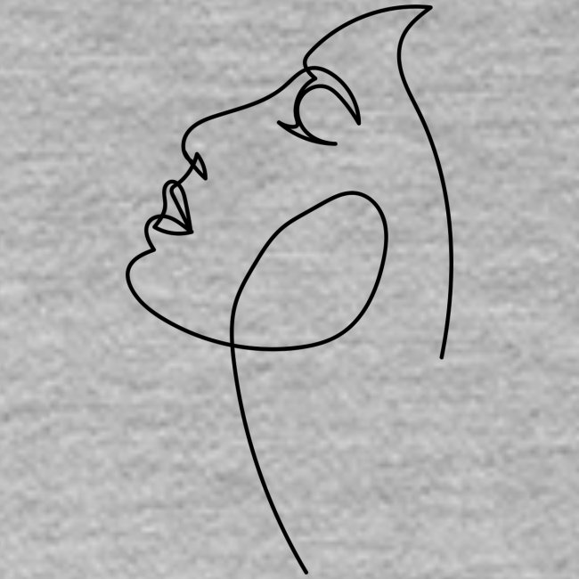 Logo Visage au Trait