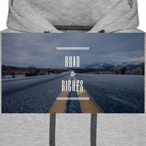 Road to Rich£s - Men's Premium Hoodie