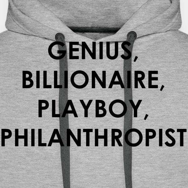 Genius Billionaire Black