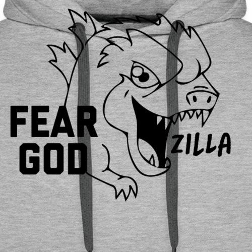 Godz T-shirt - Felpa con cappuccio premium da uomo
