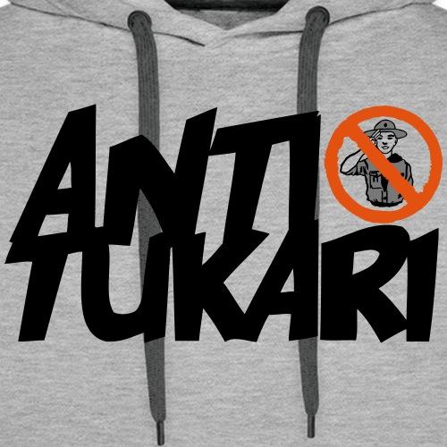 Anti Tukari - Miesten premium-huppari