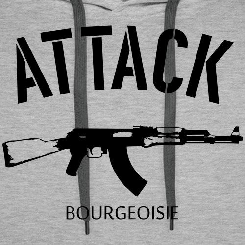 Attack bourgeoisie - Miesten premium-huppari