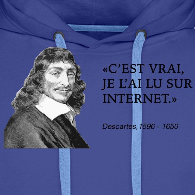 Descartes : je l'ai lu sur internet