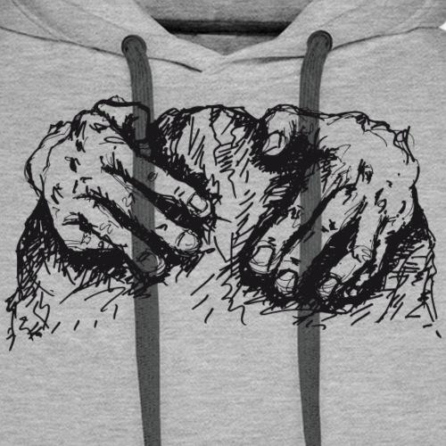 Kletterhände - Männer Premium Hoodie