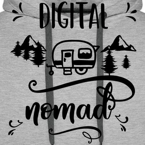 digitalnomad - Männer Premium Hoodie