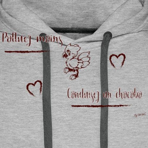 Chocobo 2 - Sweat-shirt à capuche Premium pour hommes